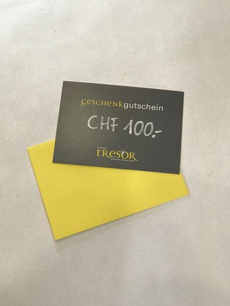 Geschenkgutschein Boutique Tresor Premium Second Hand