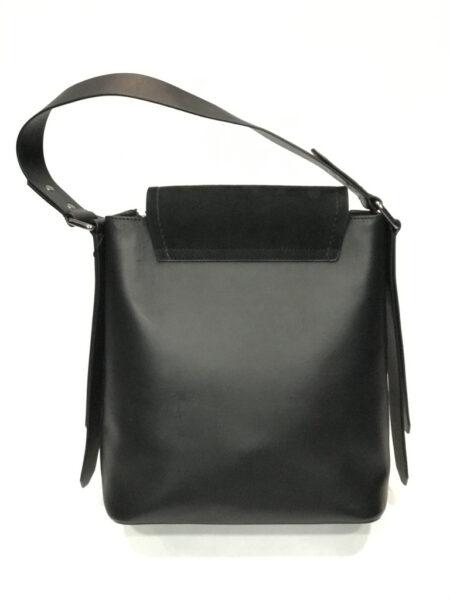 Tasche Desa Leder schwarz