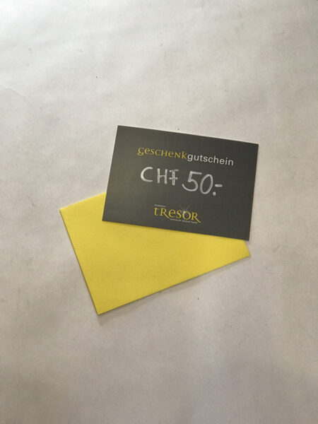 CHF 50 Geschenkgutschein