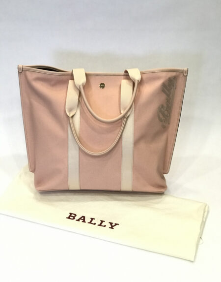 Tasche Bally Canvas Tote Bag rosa