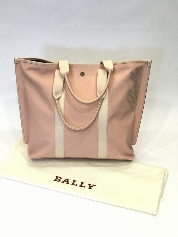 Tasche Bally Canvas Tote Bag rosa