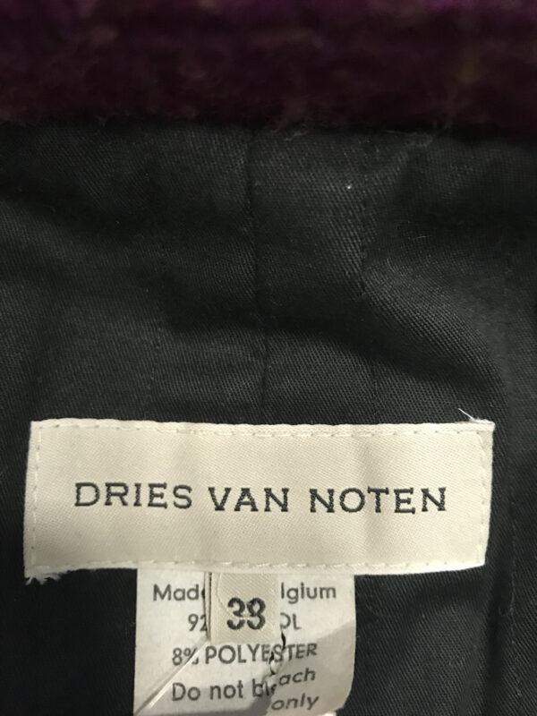 Jacke Dries van Noten weinrot Grösse S/M