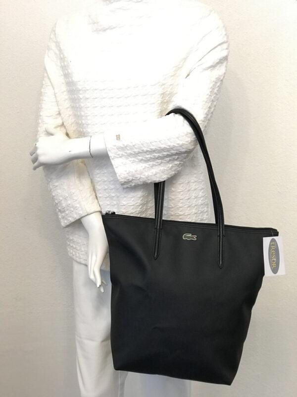 Tasche Shopper Lacoste schwarz