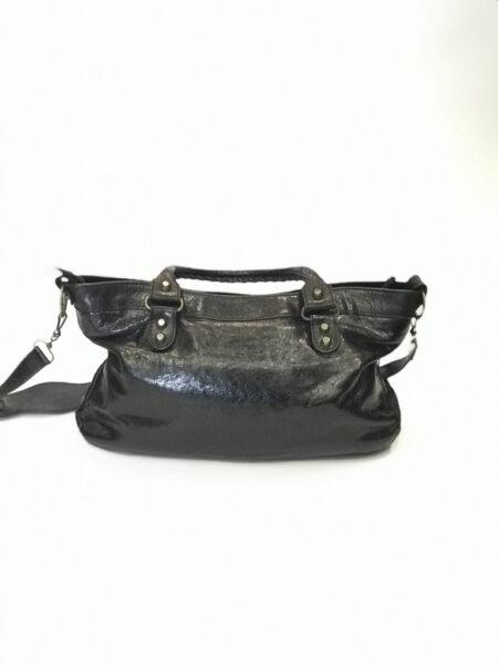 Tasche Leder Made in Italy schwarz