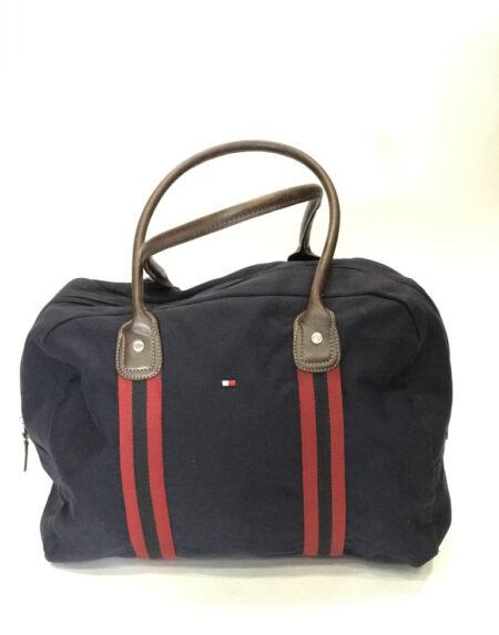 Tasche Tommy Hilfiger Stoff blau
