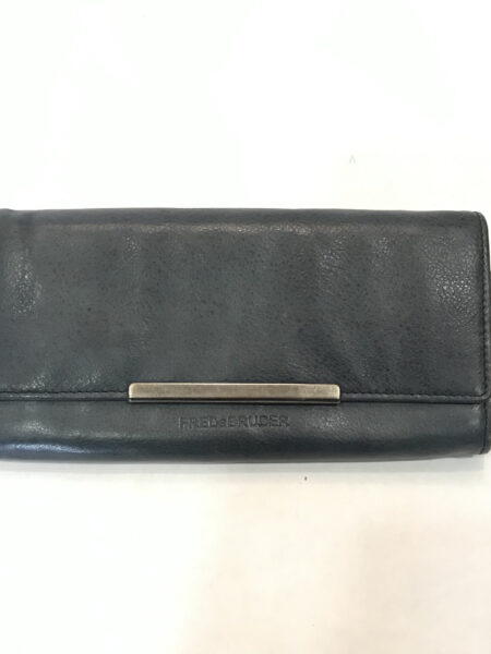 Portemonnaie FredsBruder Leder denim blau/grau