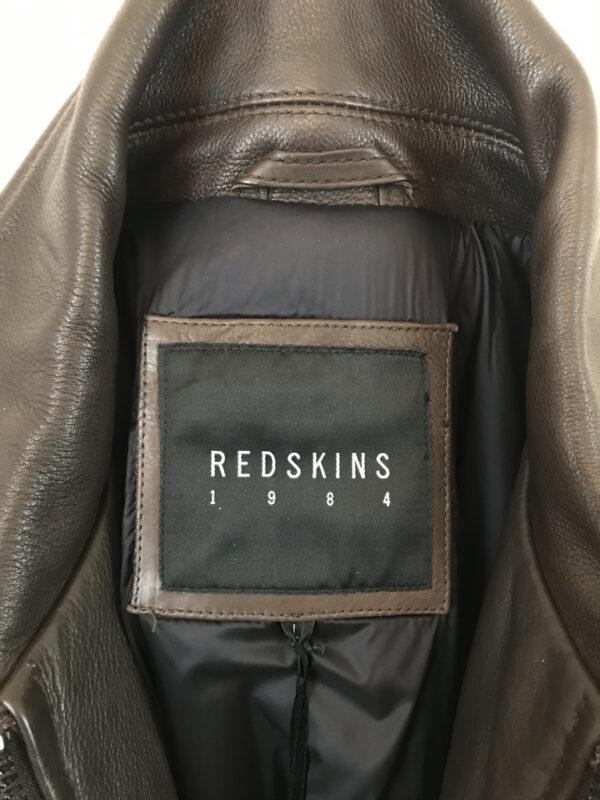 Lederjacke Redskins braun