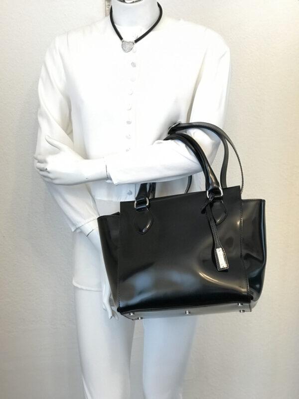 Tasche Abro Leder schwarz