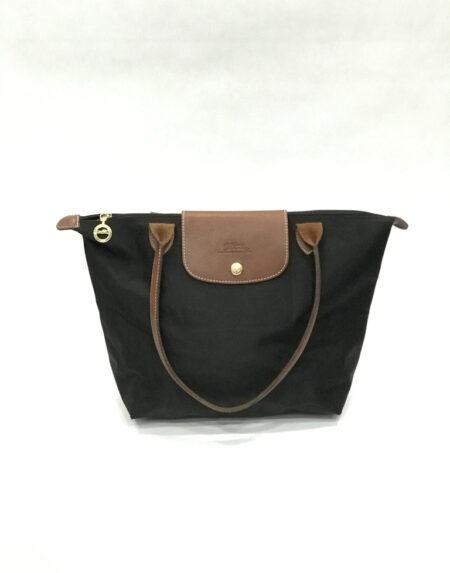Tasche Longchamp Le Pliage Nylon schwarz