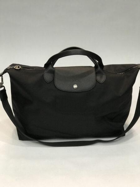 Tasche Longchamp Le Pliage Néo L schwarz