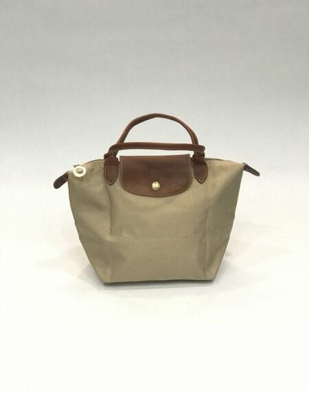 Tasche Longchamp Le Pliage Nylon beige