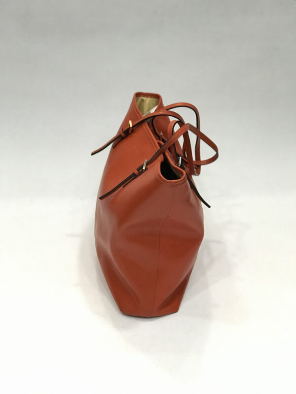 Tasche Shopper Coccinelle Leder orange-rot