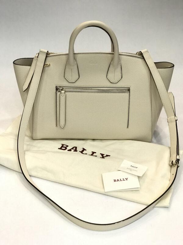 Tasche Bally Leder ecru