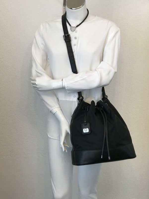 Tasche Beutel Marina Rinaldi Nylon schwarz