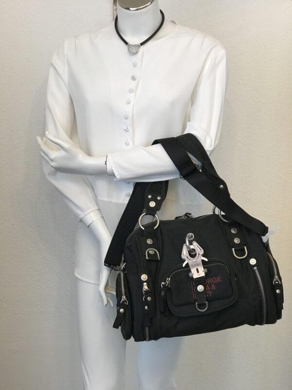 Tasche George Gina & Lucy Nylon schwarz