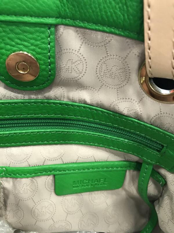 Tasche Shopper Michael Kors Leder grün