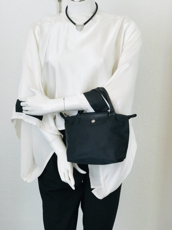 Tasche Longchamp Le Pliage XS/Mini schwarz