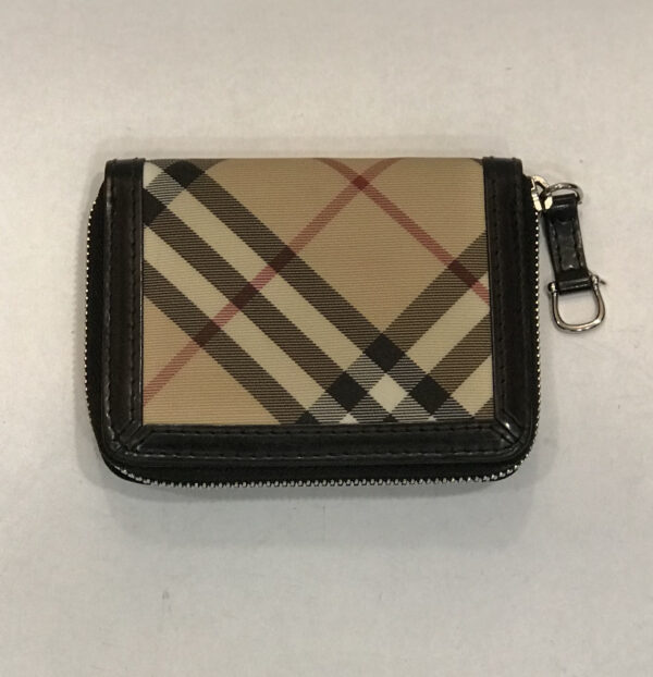 Portemonnaie Burberry Zipper schwarz