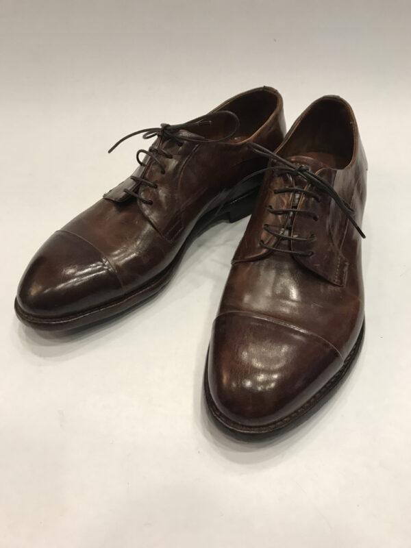 Schuhe Lemargo Leder braun, Grösse 40