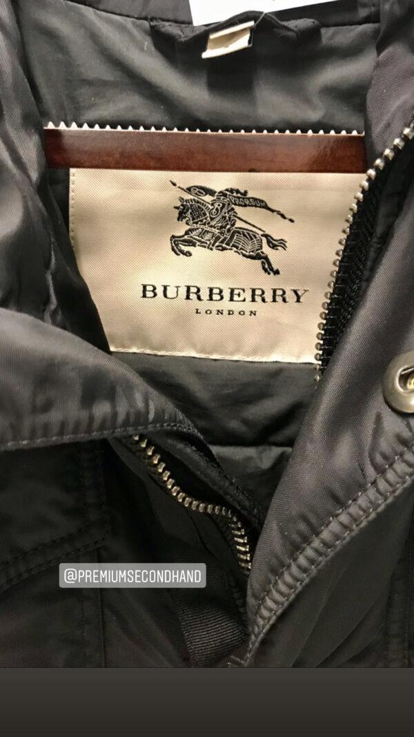 Bomberjacke Burberry London schwarz Grösse L